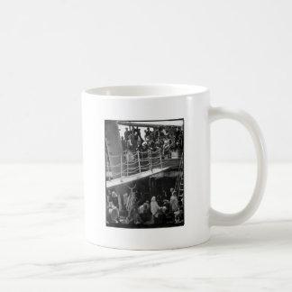 The Steerage - Immigration Ship Vintage 1907 Mugs