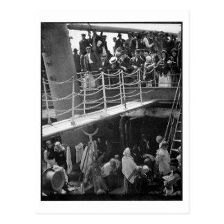 The Steerage - Immigration Ship Vintage 1907 Postcard