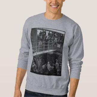 The Steerage - Immigration Ship Vintage 1907 Sweatshirt