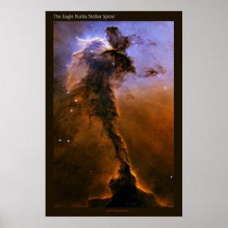 The Stellar Spiral - Large Poster