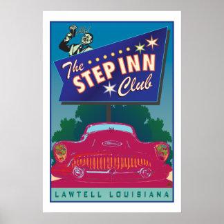 The Step Inn Club-Poster
