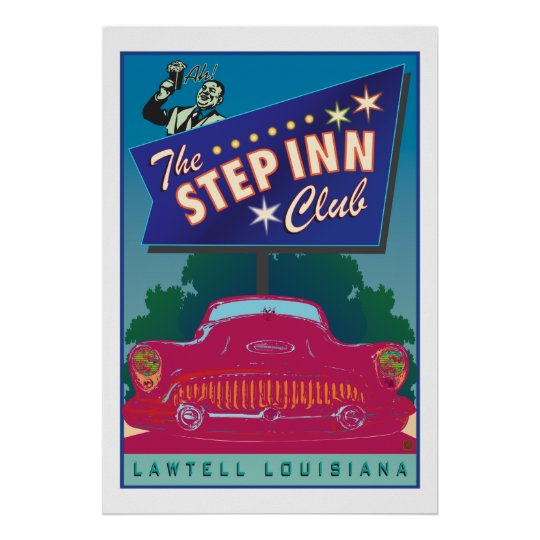 The Step Inn Club-Poster Poster