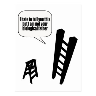 The Step Stool Postcard