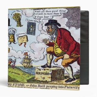The Stepping Stone,John Bull peeping into Binder