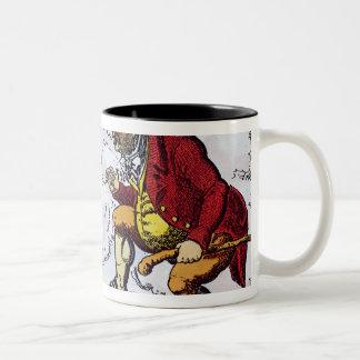 The Stepping Stone,John Bull peeping into Mug