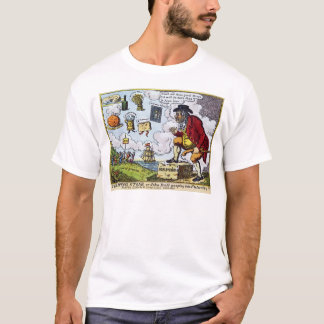 The Stepping Stone,John Bull peeping into T-Shirt
