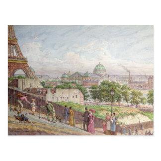The Steps at the rue Alboni, 1897 Postcard