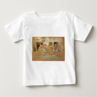 The Steps by James McNeill Whistler Baby T-Shirt