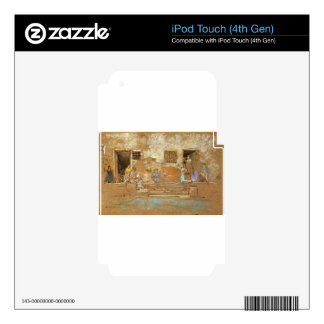 The Steps by James McNeill Whistler Decal For iPod Touch 4G