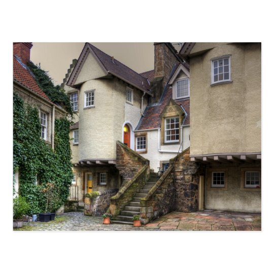 The Steps in White Horse Close Postcard