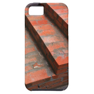 The steps of a new red brick staircase iPhone SE/5/5s case
