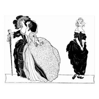 The Stepsisters & Vintage Cinderella Postcard