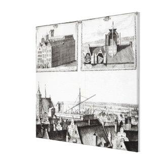 The Sternenburg observatory Canvas Print
