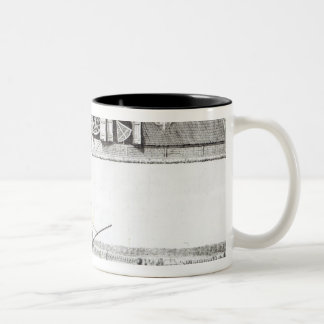 The Sternenburg observatory Two-Tone Coffee Mug