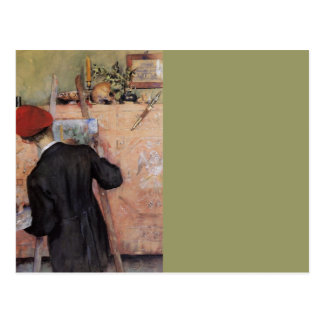 The Still Life Painter 1896 Postcard