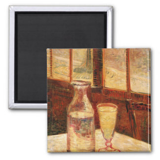 The Still Life with Absinthe by Vincent van Gogh Refrigerator Magnet