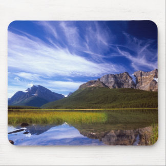 The still waters of Waterfowl Lake make a Mouse Pad