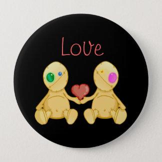 The Stitches Love Pinback Button