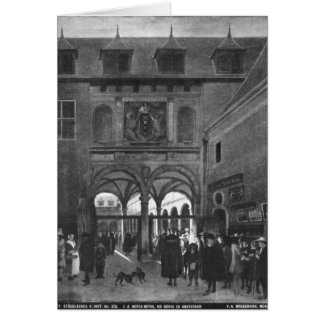 The Stock exchange in Amsterdam Cards