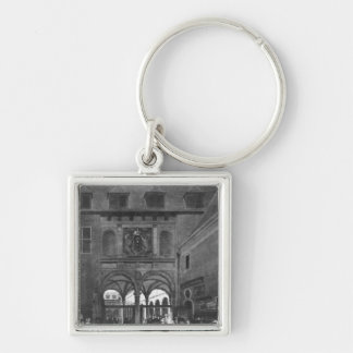 The Stock exchange in Amsterdam Keychain