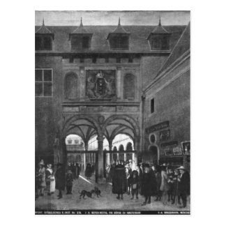 The Stock exchange in Amsterdam Post Card