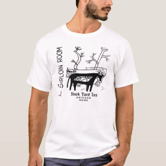 The Stock Yard Inn, the Sirloin Room, Chicago, IL T-Shirt