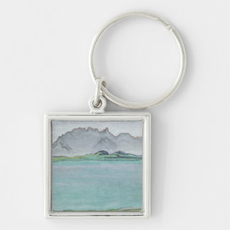 The Stockhorn Mountains and Lake Thun, 1911 Keychain
