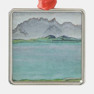 The Stockhorn Mountains and Lake Thun, 1911 Metal Ornament