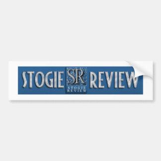 The Stogie Review Bumper Sticker Car Bumper Sticker