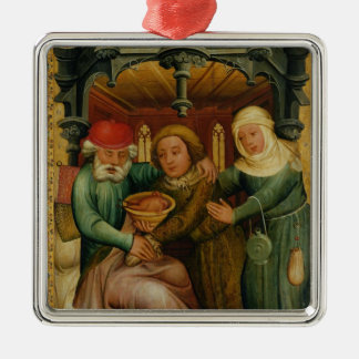 The Stolen Blessing from the High Altar Metal Ornament