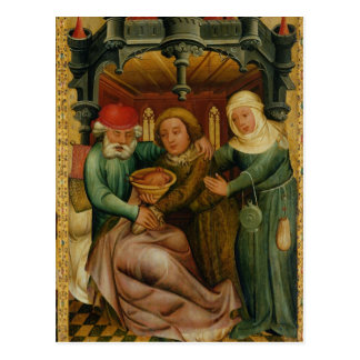 The Stolen Blessing from the High Altar Postcard
