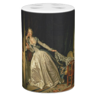 The Stolen Kiss by Jean-Honore Fragonard Bathroom Set