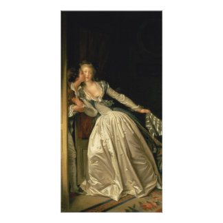 The Stolen Kiss by Jean-Honore Fragonard Card