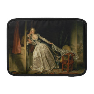 The Stolen Kiss by Jean-Honore Fragonard MacBook Sleeve