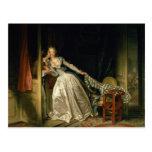 The Stolen Kiss by Jean-Honoré Fragonard Postcards