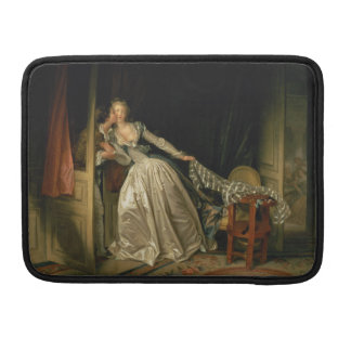 The Stolen Kiss by Jean-Honore Fragonard Sleeve For MacBook Pro