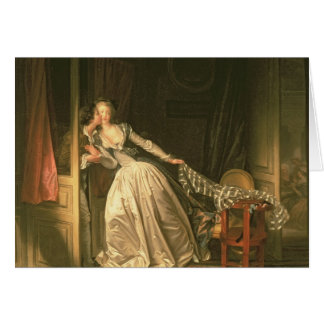 The Stolen Kiss, c.1788 Card