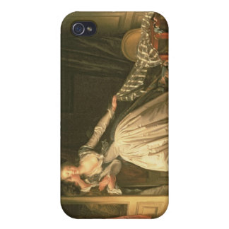 The Stolen Kiss, c.1788 iPhone 4 Covers