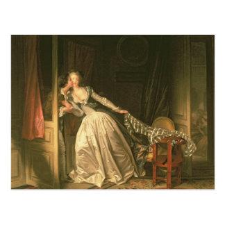 The Stolen Kiss, c.1788 Postcard