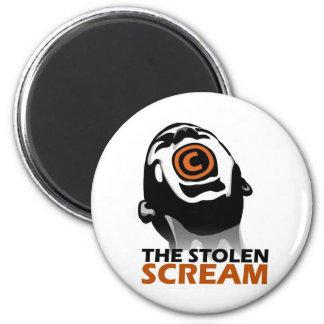 The Stolen Scream 2 Inch Round Magnet