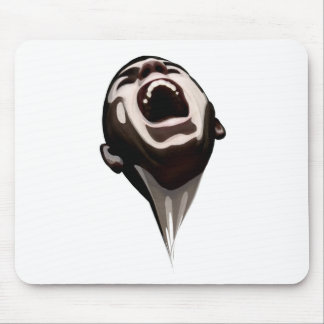 The Stolen Scream - Gohst Mouse Pad