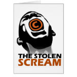 The Stolen Scream Greeting Cards