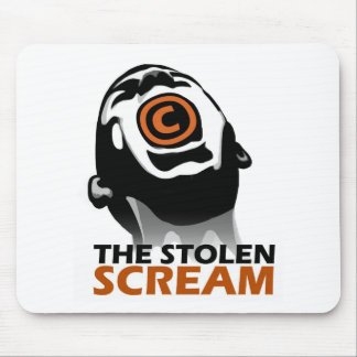 The Stolen Scream Mouse Pad