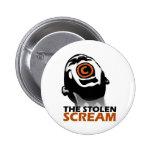 The Stolen Scream Pinback Button