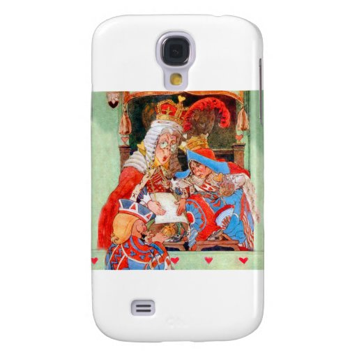 The Stolen Tarts Trial of The Knave of Hearts Samsung Galaxy S4 Cases