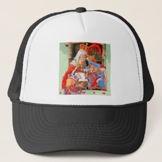 The Stolen Tarts Trial of The Knave of Hearts Trucker Hat