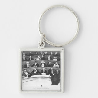 The Stomach of the Legislature Keychain