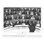 The Stomach of the Legislature Postcard