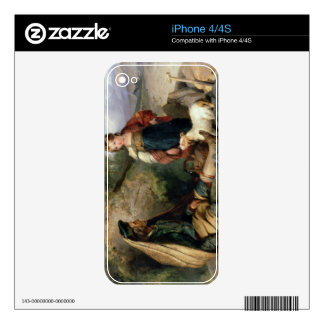 The Stone Breaker and his Daughter, 1830 iPhone 4S Decal