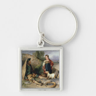 The Stone Breaker and his Daughter, 1830 Keychain